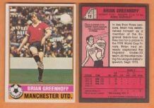 Manchester United Brian Greenhoff England 10